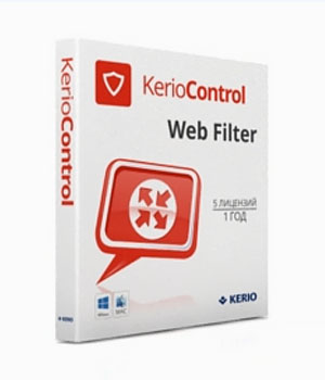 Kerio Control Standard License Web Filter Extension
