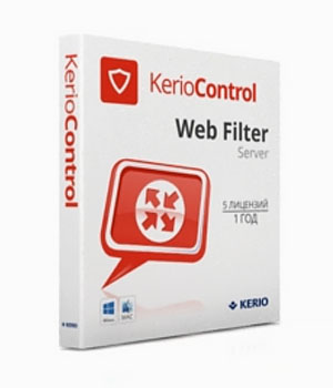 Kerio Control Standard License Web Filter Server Extension
